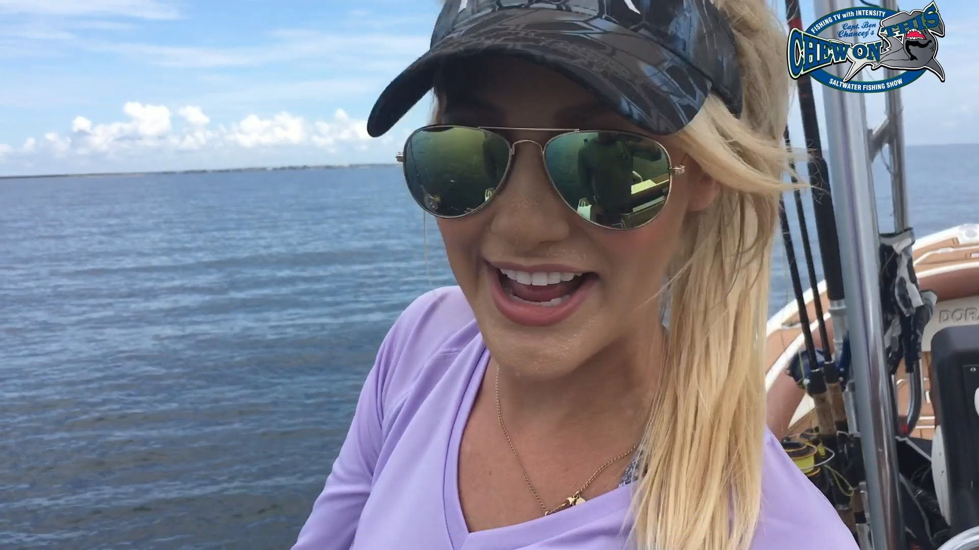 Fishing craziness abound ft brooke thomas with chew on for Brooke thomas fishing